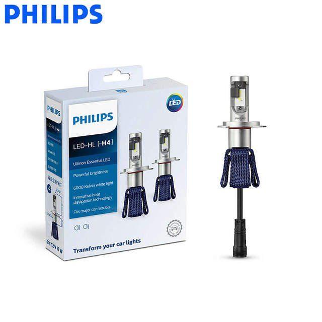 Żarówki samochodowe Philips Ultinon Essential LED H4 H7 9003 H8 H11 H16 9005 9006 HB3 HB4