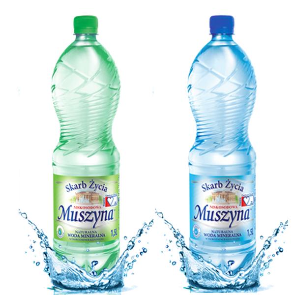 Woda mineralna Muszyna Skarb Życia 5,95zł za 6pak /1,5L, 2 rodzaje, hipermarket bi1