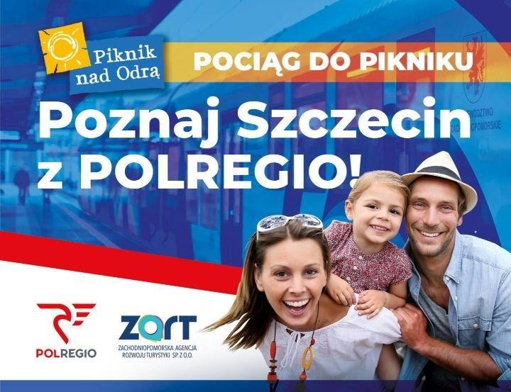 Pociąg do Pikniku nad Odrą 2019 - poznaj Szczecin z POLREGIO - bezpłatne zwiedzanie tematyczne z przewodnikiem dla klientów POLREGIO
