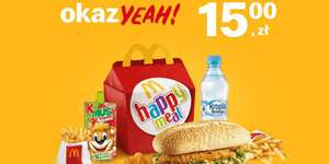 McDonald's:15zł za Happy Meal® + 2 for U