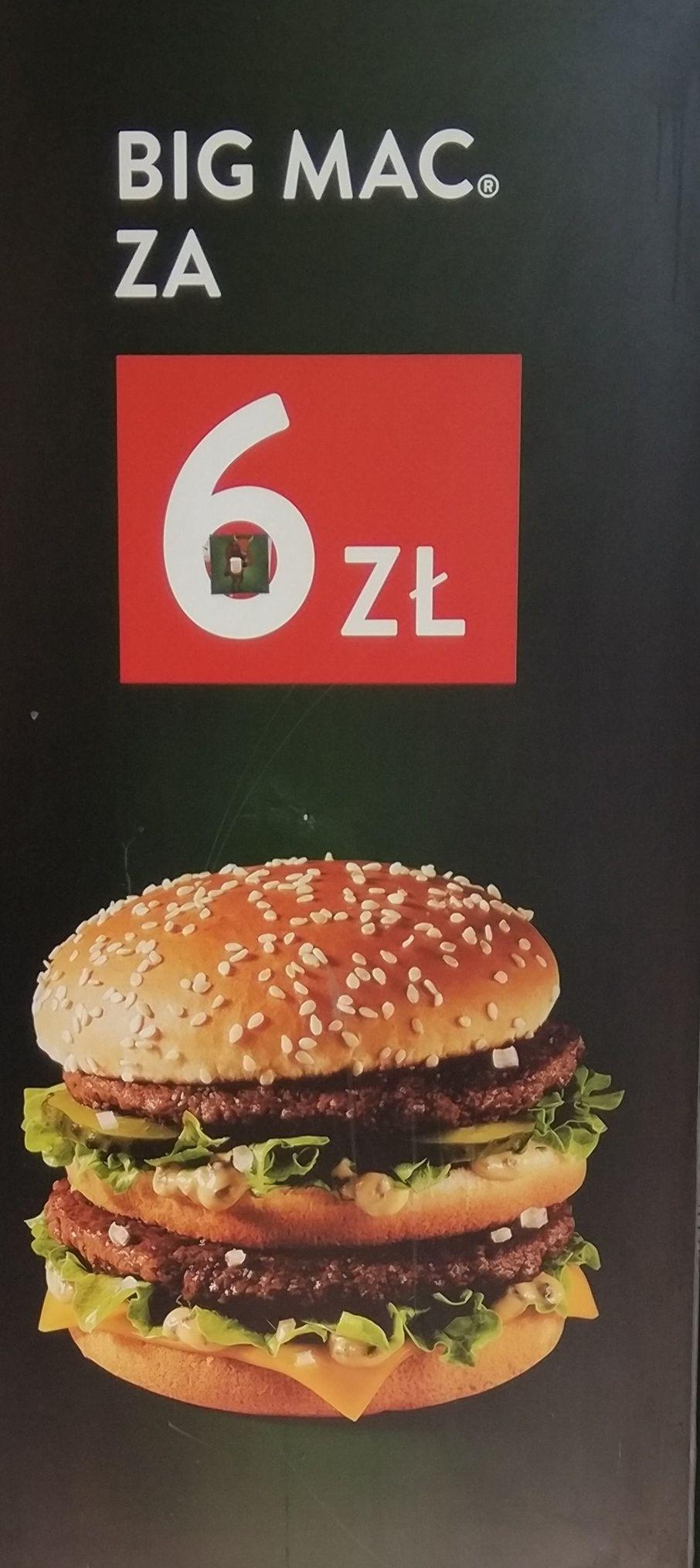 Big Mac za 6zł McDonald's Gliwice Zwycięstwa