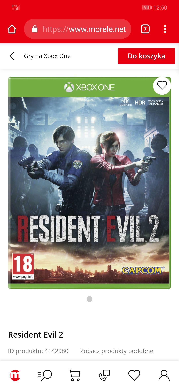 Gra Resident Evil 2 Xbox One