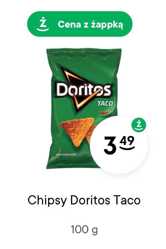 Doritos TACO w sklepie Żabka (cena z aplikacją Żappka)