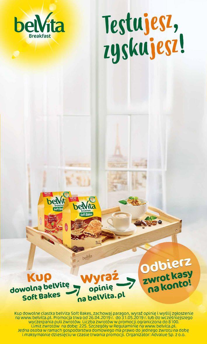 Kup ciastka belVita Soft Bakes i odbierz ZWROT kasy na konto!
