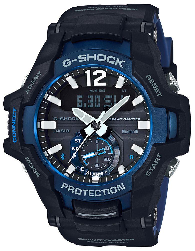 Zacny zegarek Casio GR-B100-1A2ER z Bluetooth