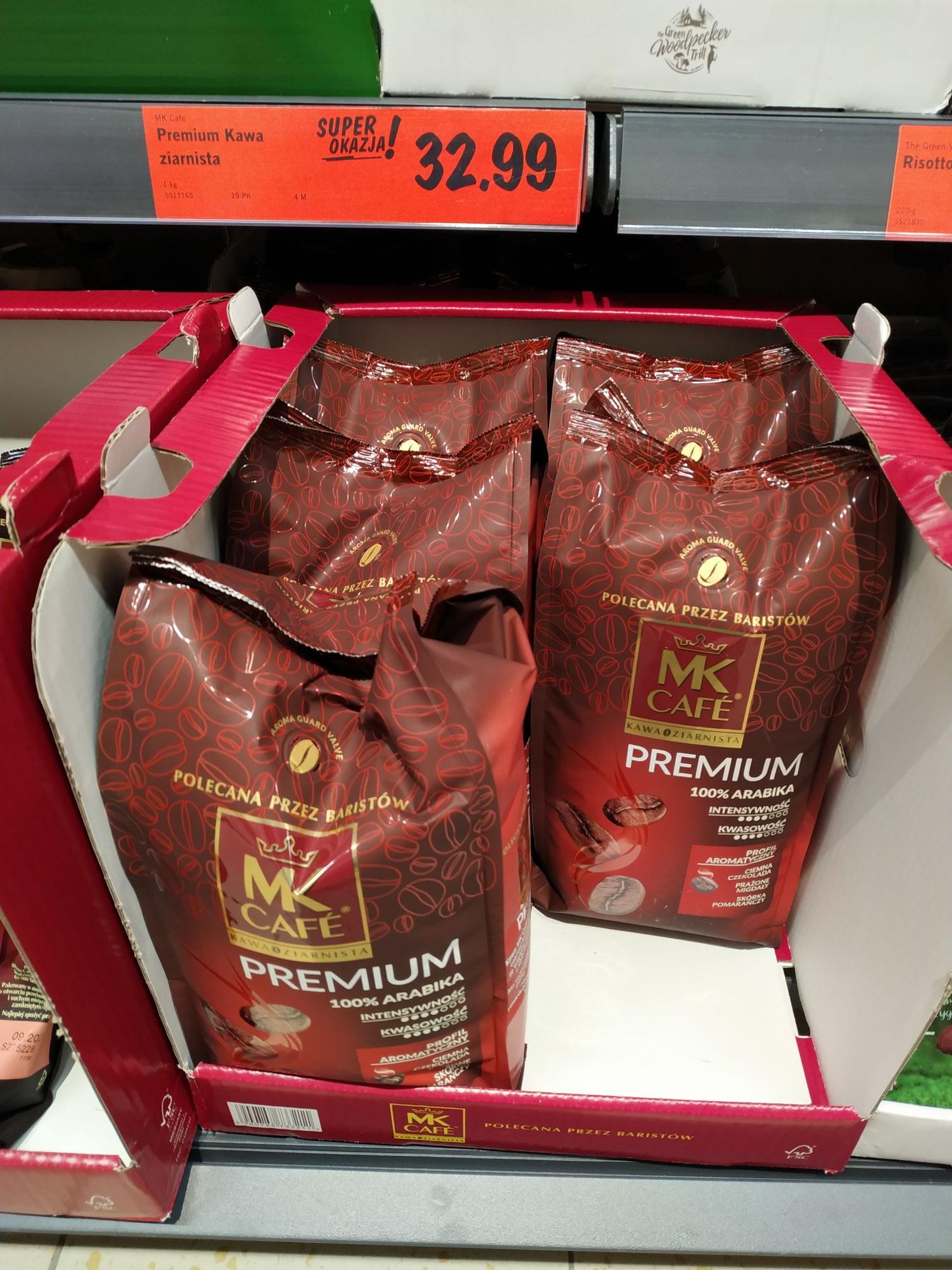 Kawa ziarnista Mk cafe 1 kg Lidl Toruń