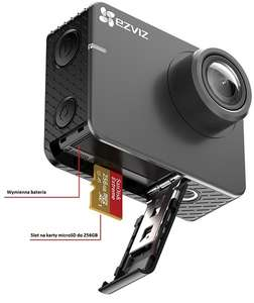 Kamera sportowa Ezviz S2 oraz S1