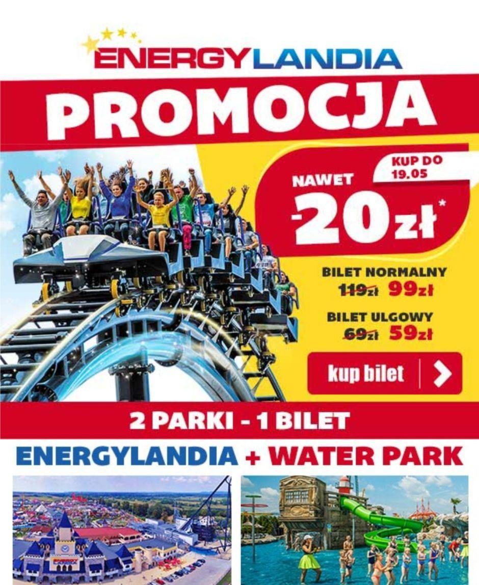 Bilety do Parku Rozrywki Energylandia w Zatorze