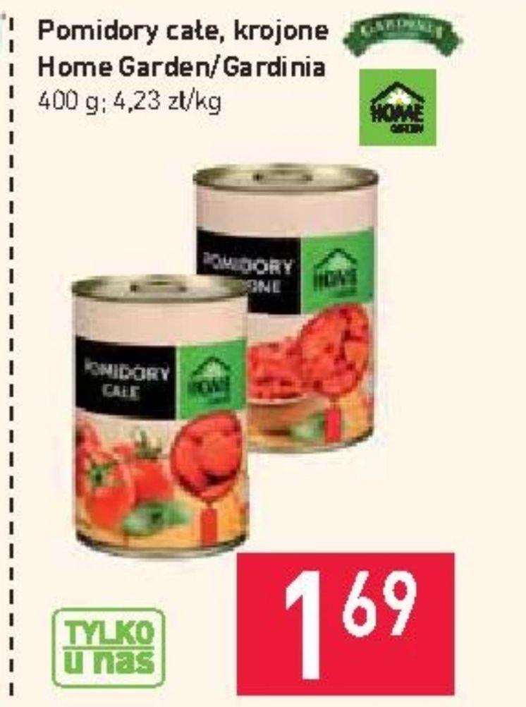 Pomidory całe/krojone Stokrotka