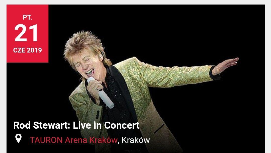 Koncert Roda Stewarta, Kraków 21 czerwca