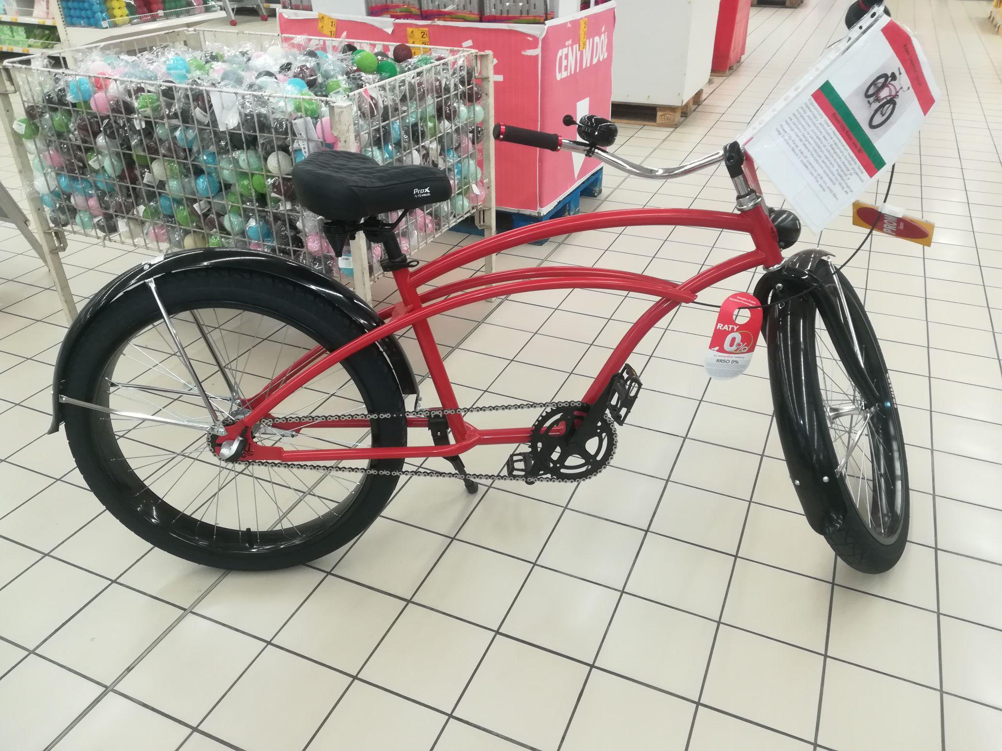 Rower City Racer z manufaktury Adrian Łucejko w Auchan Bonarka