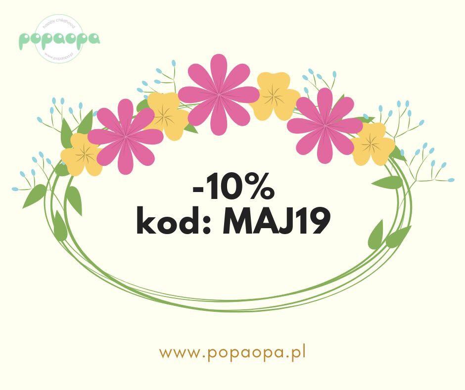 10% rabatu w popaopa.pl
