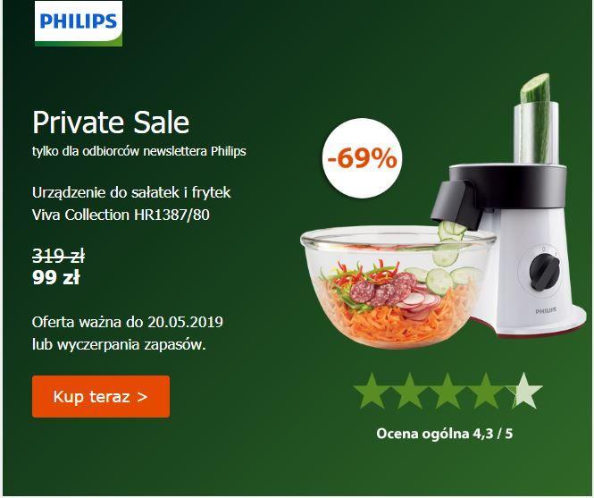 Philips SaladMaker HR1387/80, promocja dla odbiorców newslettera