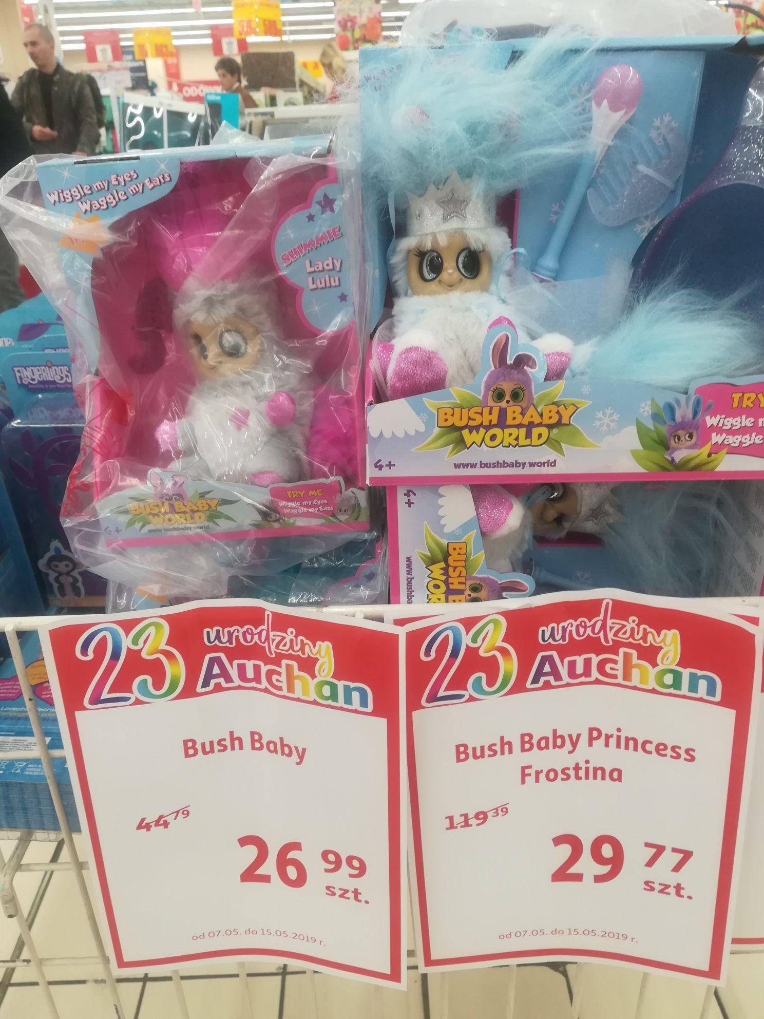 Bush Baby Princess Frostina w Auchan Bonarka