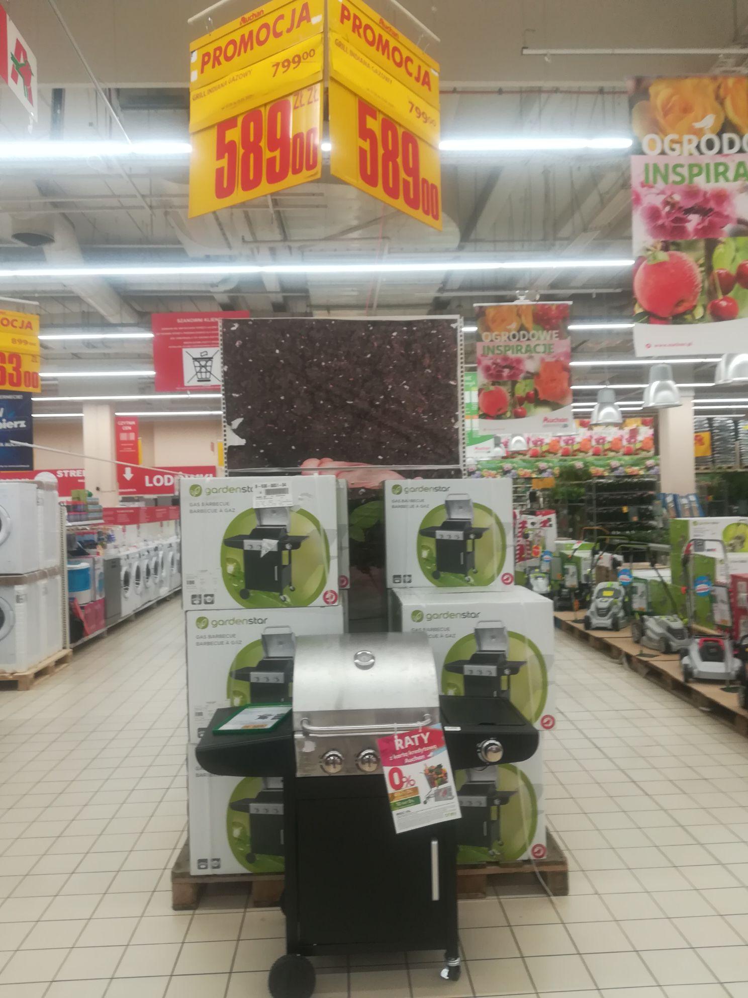 Grill Gazowy GardenStar w Auchan Bonarka