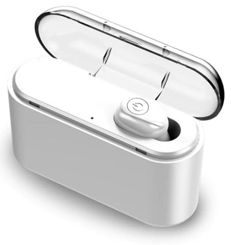 Słuchawka douszna Bluetooth 5.0 z etui-ładowarką
