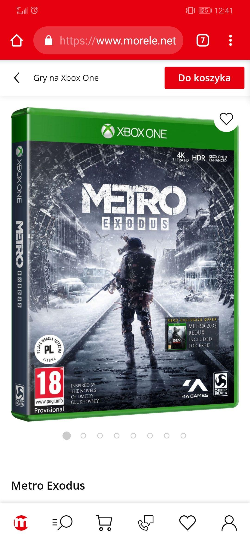 Gra Metro Exodus Xbox One