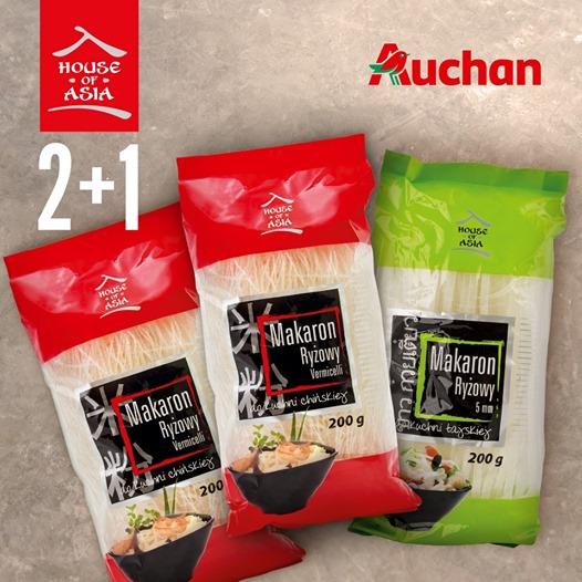 Makaron House of Asia 2+1 za grosz w Auchan