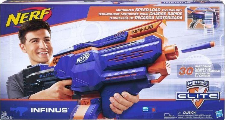 Wyrzutnia NERF N-Strike Elite Infinus E0438; @morele