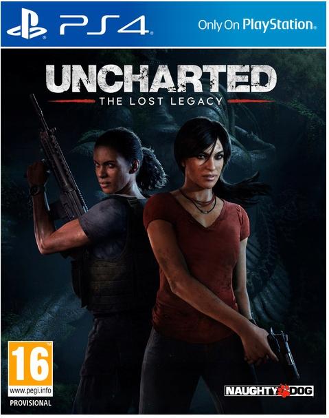 Uncharted Lost Legacy nówka