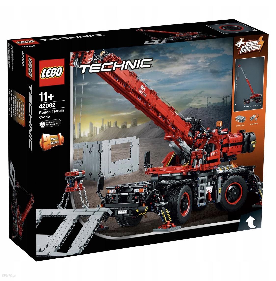Lego technic 3 modele Auchan