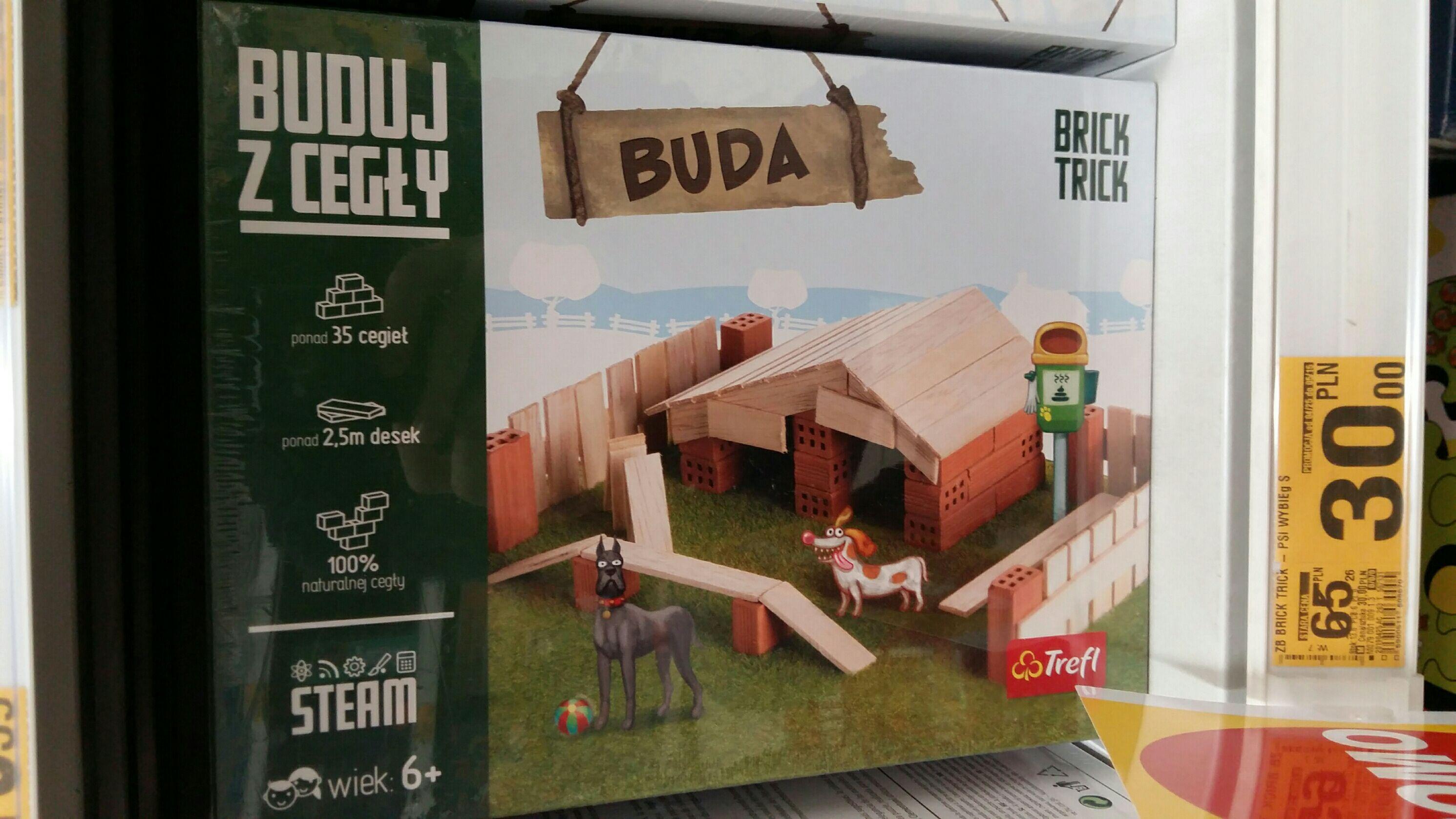 """Trefl Brick Trick """"Buduj z cegły"""" - wybrane zestawy taniej o 35% i więcej w Auchan"""