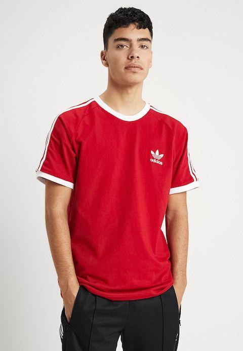3-STRIPES TEE - T-shirt z nadrukiem