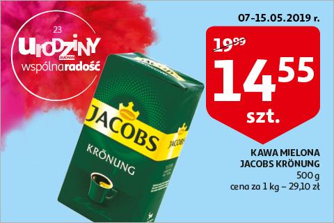 Jacobs Kronung kawa mielona 500g @Auchan