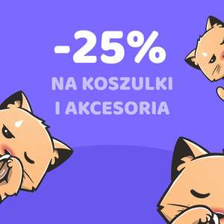 Othertees -25% na koszulki i akcesoria oraz darmowa dostawa z kodem