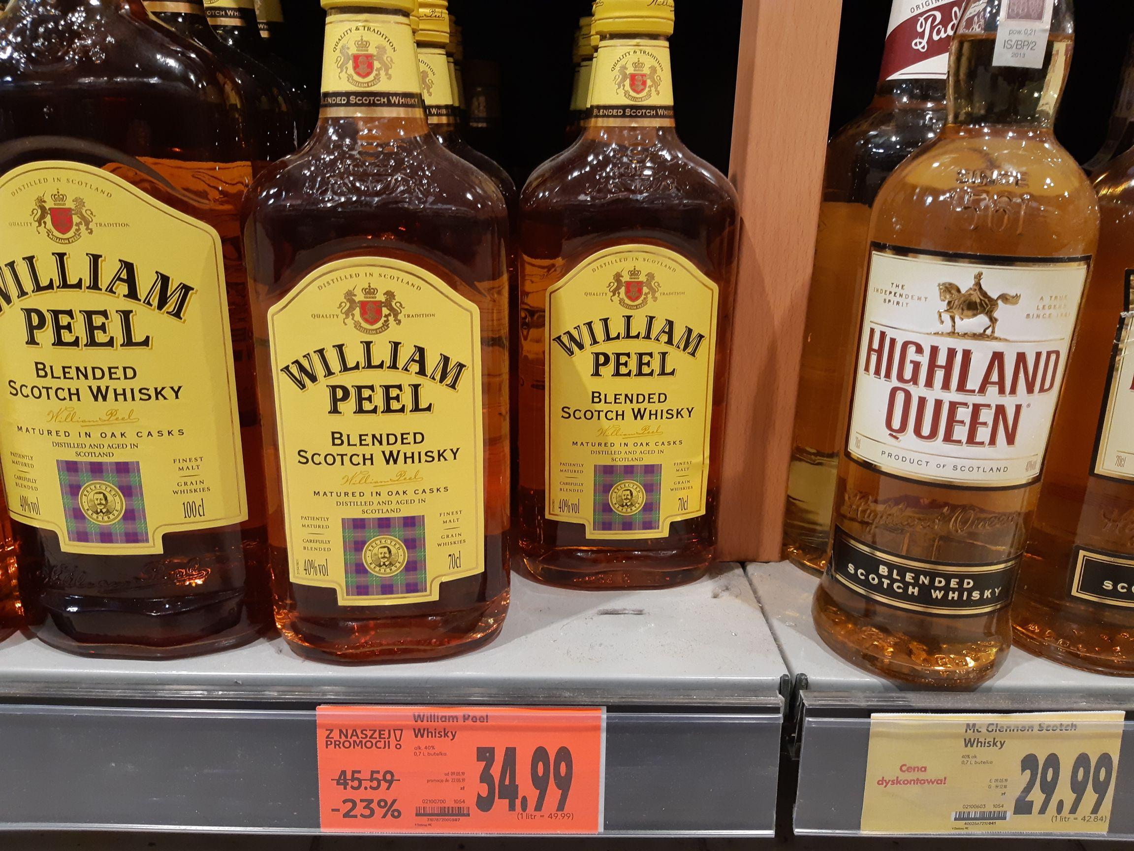William Peel 0,7 34,99 zł Kaufland