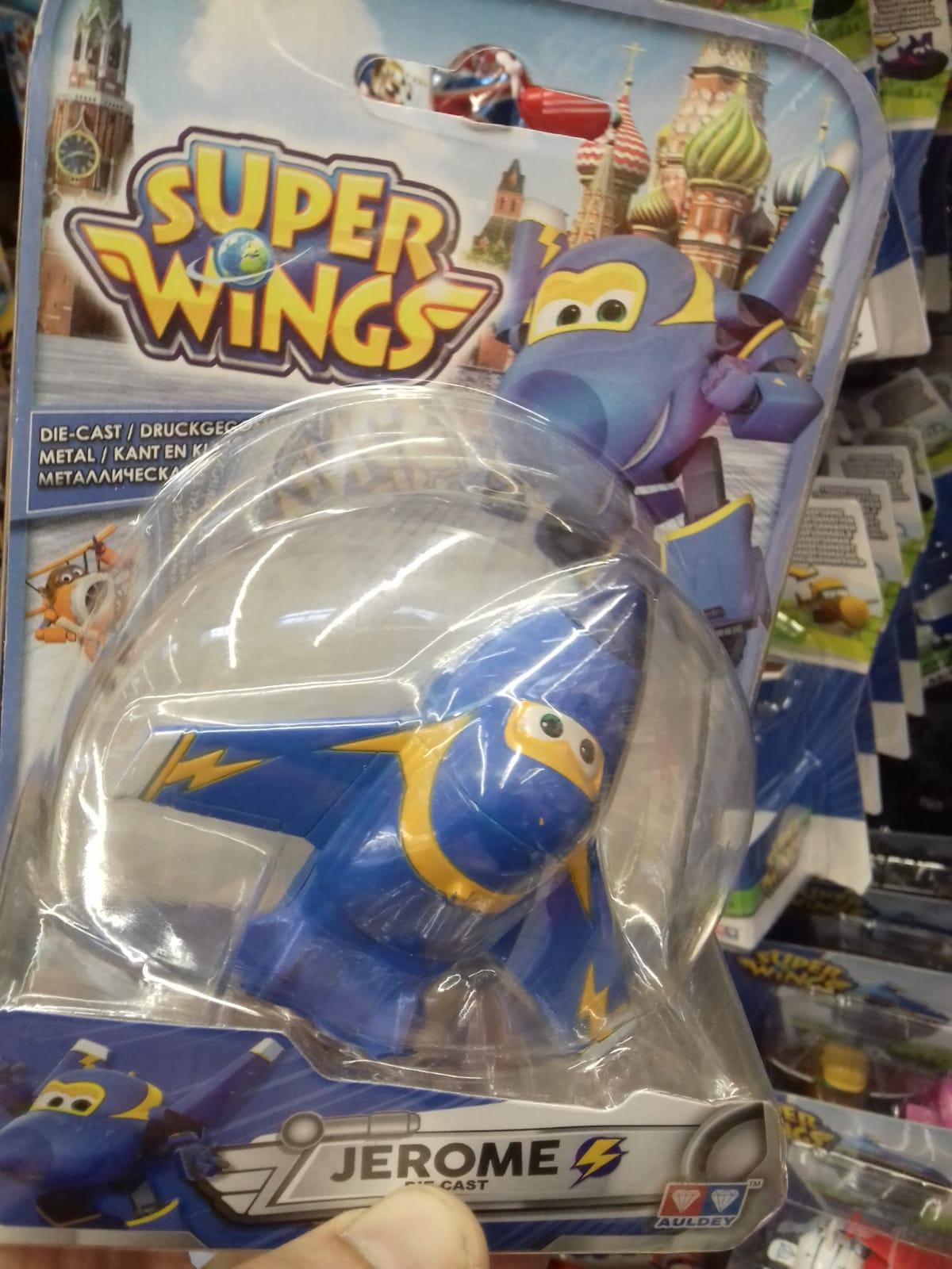 Zabawka Samolot Lotek z filmu Super Wings  AUCHAN Janki