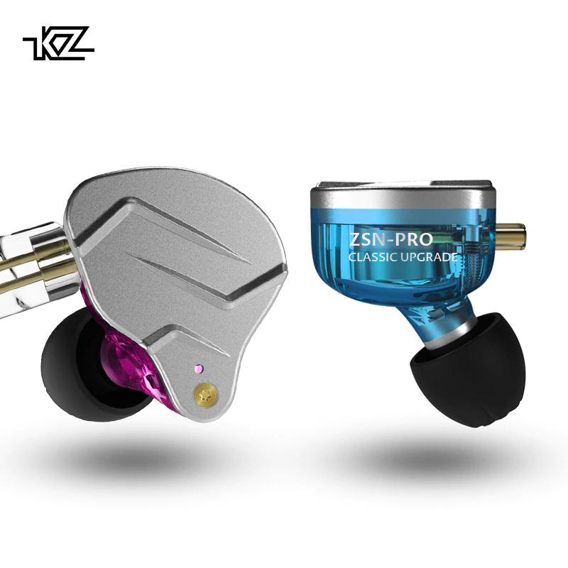 KZ ZSN Pro - słuchawki dokanałowe model 2019