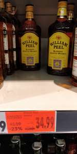 William Peel 0.7 whisky whiskey Kaufland Częstochowa