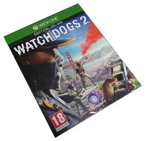 WATCH DOGS 2 DELUXE XBOX ONE PL ALLEGRO
