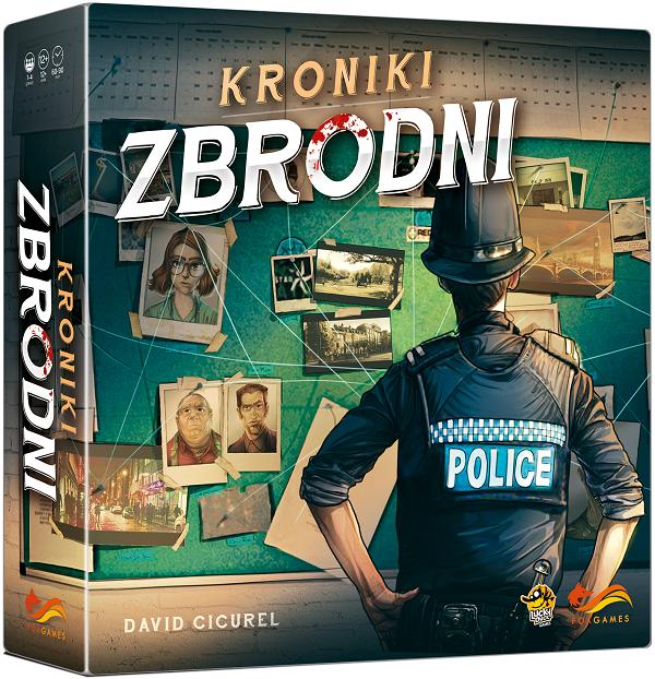 Gra planszowa Kroniki zbrodni @ merlin.pl