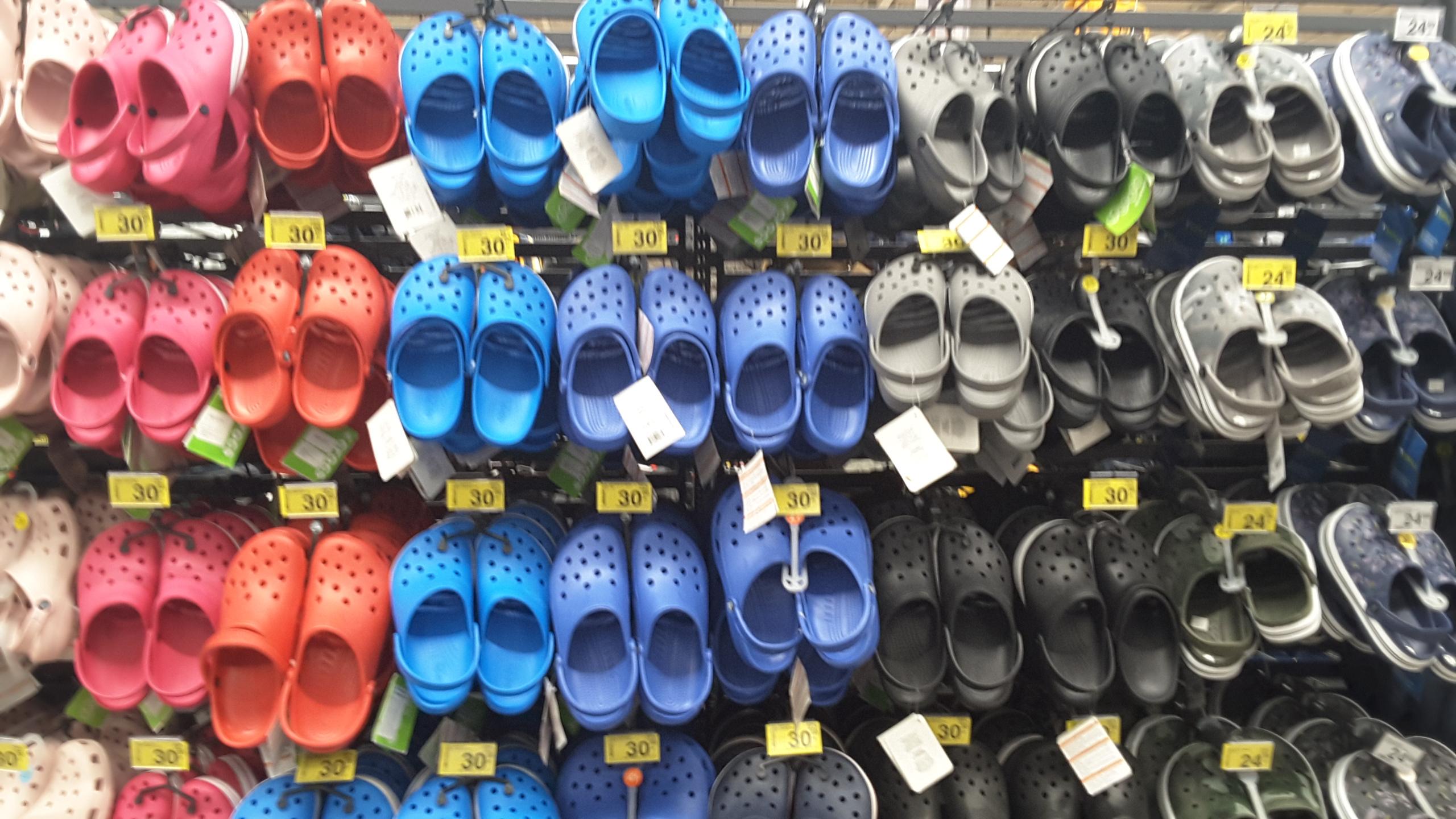 Crocs-y w Carrefour, ORYGINAL