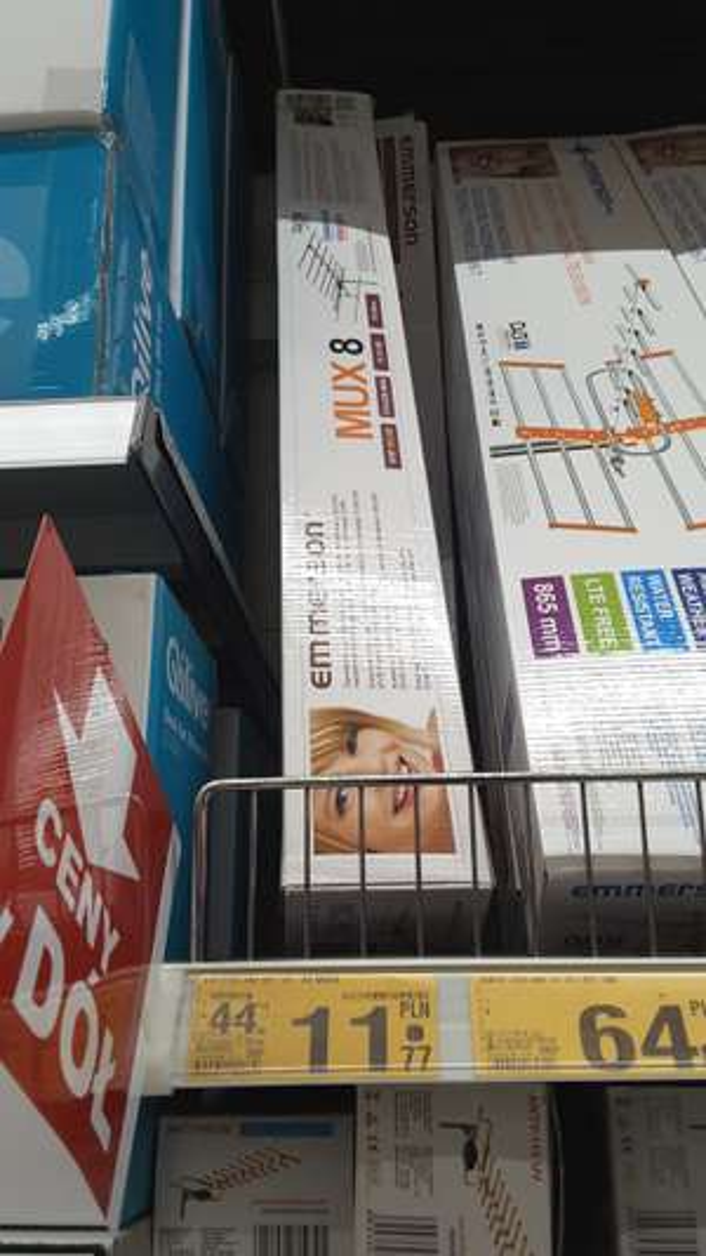 Antena kierunkowa Emmerson MUX8, Auchan
