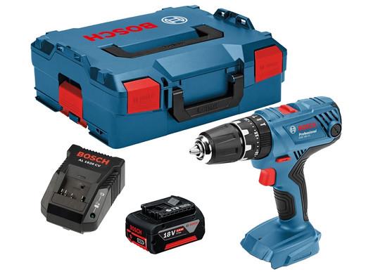Wiertarko-wkrętarka Professional Bosch | 18 V | 5,0 Ah Accu | L-BOXX | GSB18V-21