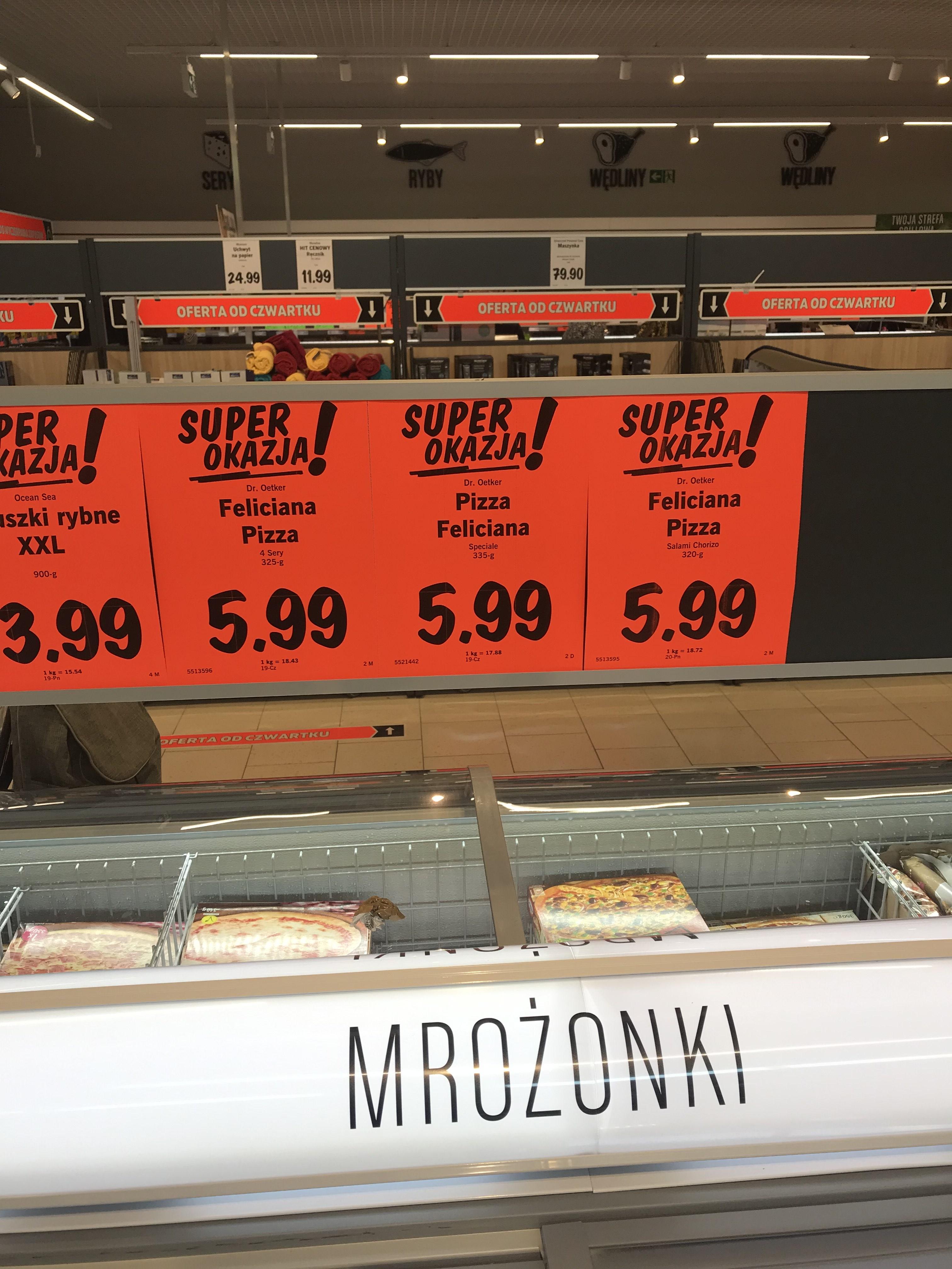 Pizza  Feliciana od Oetkera  @Lidl