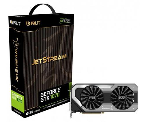 Palit GeForce GTX 1070 JetStream 8GB + pakiet dodatków do gry Fortnite @x-kom