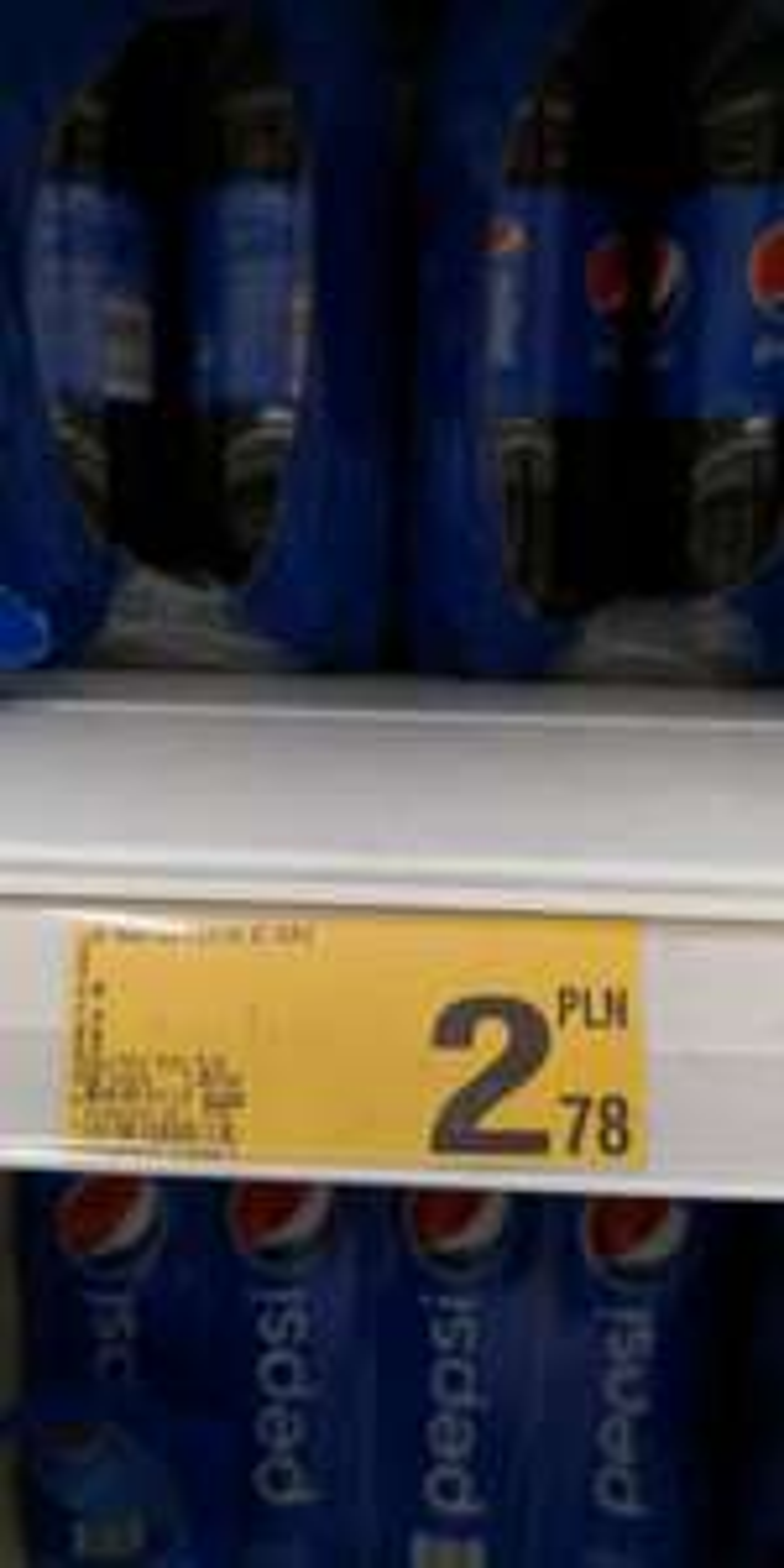 Pepsi 2l Auchan Korona Wrocław