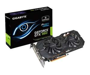 Karta Graficzna Gigabyte GeForce GTX960 2048MB 128bit WindForce 2X OC @ X-kom