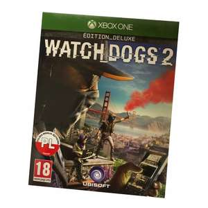 Watch Dogs 2 (XBOX ONE) PO POLSKU EDITION DELUXE