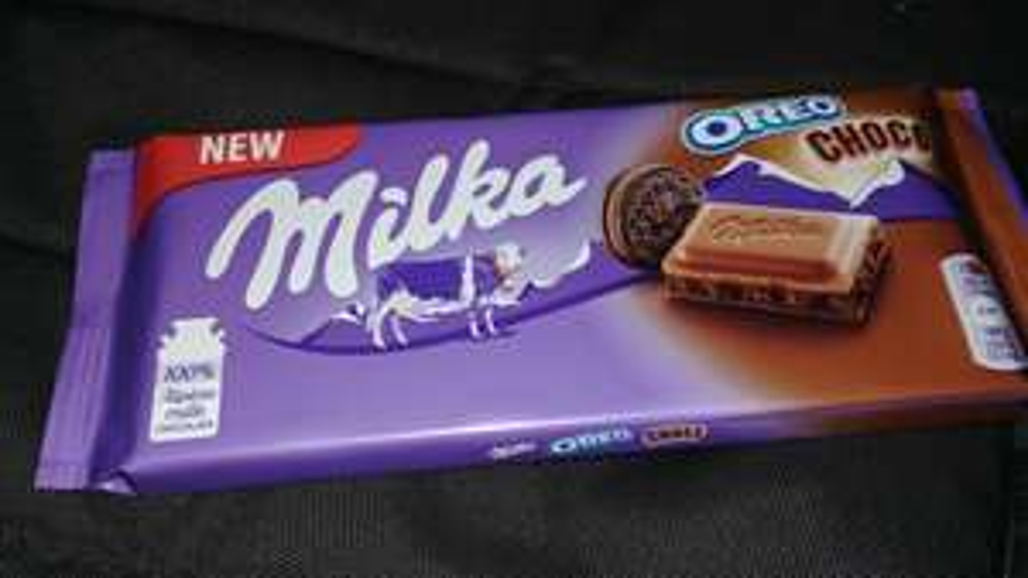 Cinema City gratis czekolada Milka oreo na wejsciu.