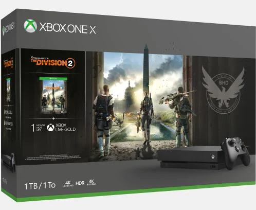 Microsoft Store - promocja na Xbox one X oraz S + gry taniej w pakiecie