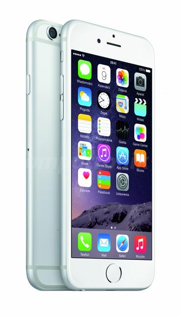 "iPhone 6 128GB Silver (4.7"", 2 x 1.4GHz A8, 128GB, LTE, 2 x Kamera 8MP, iOS) @ Komputronik"