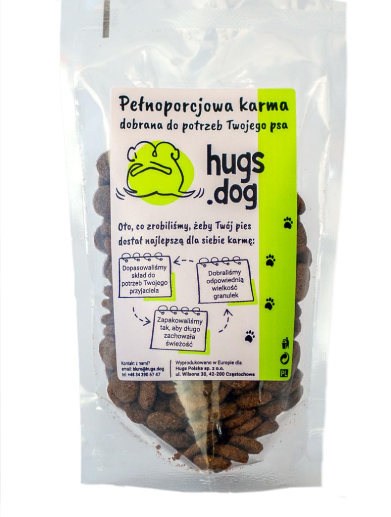 Bezpłatna próbka karmy dla psa (100g)