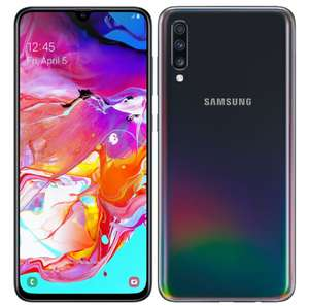 Samsung A70 - 4500 mAh - 6GB /128GB Dual czarny [NET-s]