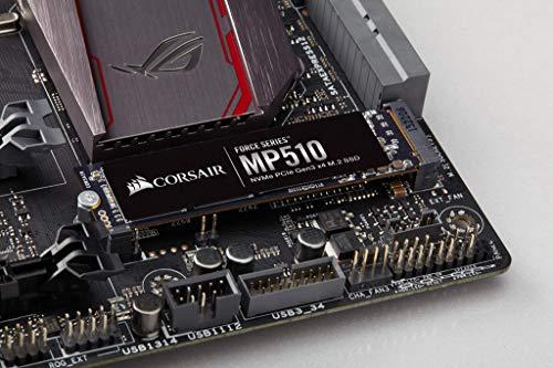 Dysk SSD M.2 NVMe PCIe Gen3 x4 Corsair MP510 960GB 142,53 euro