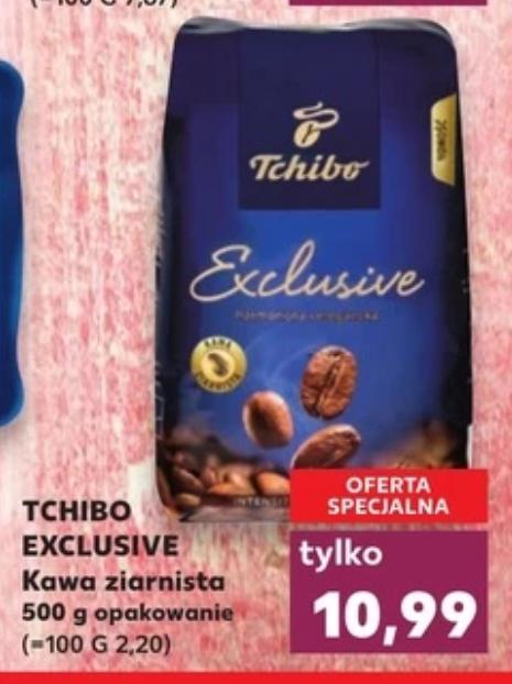 Tchibo Exclusive 500G kawa ziarnista w Kaufland.